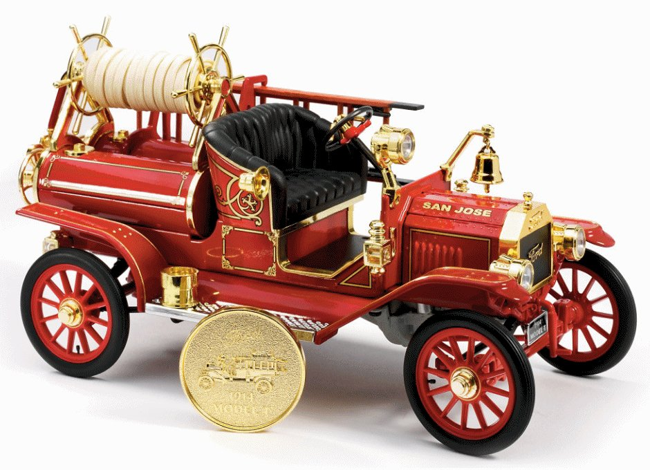 1:18 Scale Ford model T 1914 Fire Engine Truck