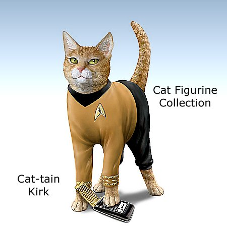STAR TREK Cat-tain Kirk