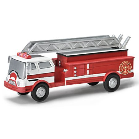 Serving With Pride Handcrafted Train Accessories Collection - Fire Truck