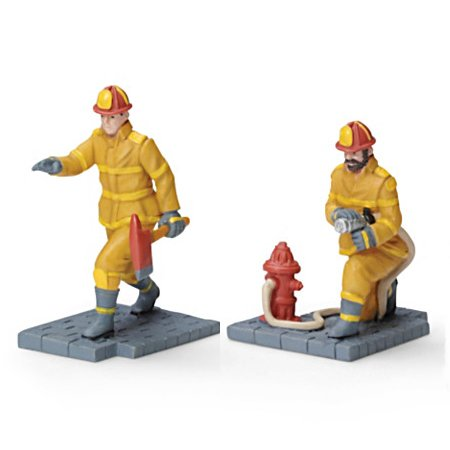 Serving With Pride Handcrafted Train Accessories Collection - Firefighters
