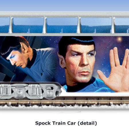 STAR TREK Express Train Collection - Spock Train Car - detail