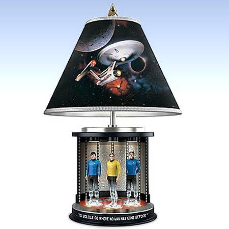 STAR TREK Transporter Tabletop Lamp