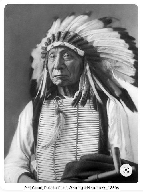 Red Cloud Dakota Chief