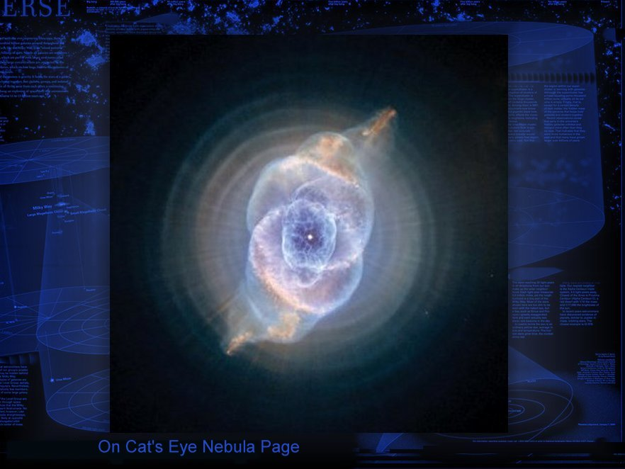 There are Cats on the Cats Eye Nebula page