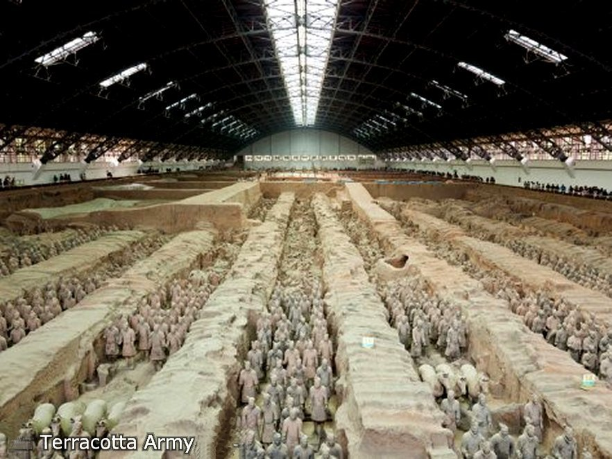 Terracotta Army, Qin Dinasty 210 BC