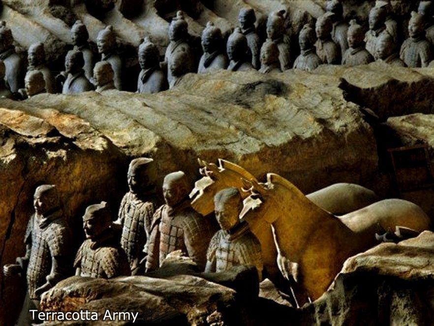 Terracotta Army, Qin Dinasty 210 BC