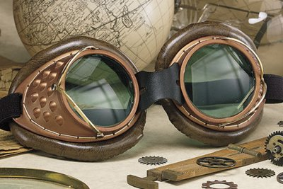 Steampunk Machinists Goggles & More