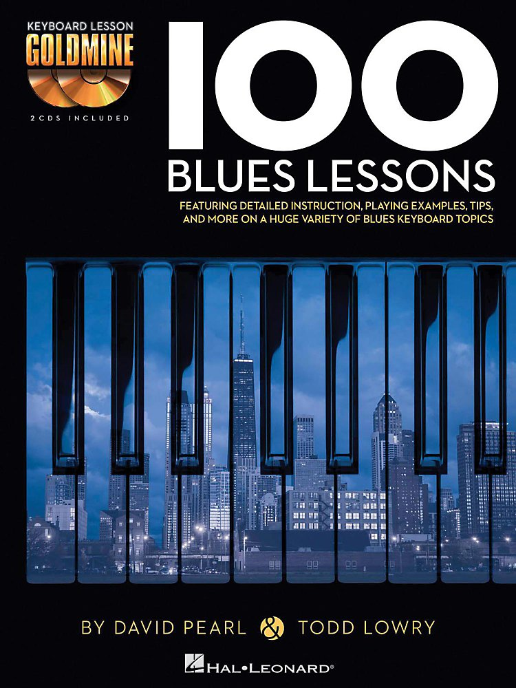 Hal Leonard - 100 Blues Lessons - Keyboard Lesson Goldmine Series Book/2-CD Pack