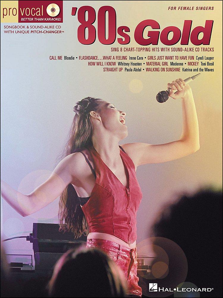 Hal Leonard - 80s Gold Pro Vocal Series For Female Singers Book/Cd Vol 4