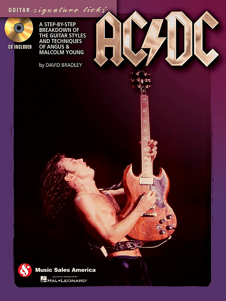Music Sales - Ac/Dc - Guitar Signature Licks Book/Cd