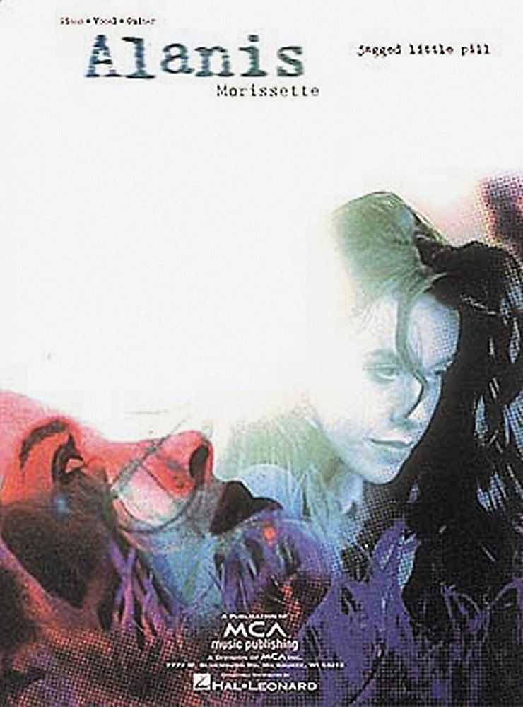 Alanis Morissette Jagged Little Pill Piano Vocal Guitar Book