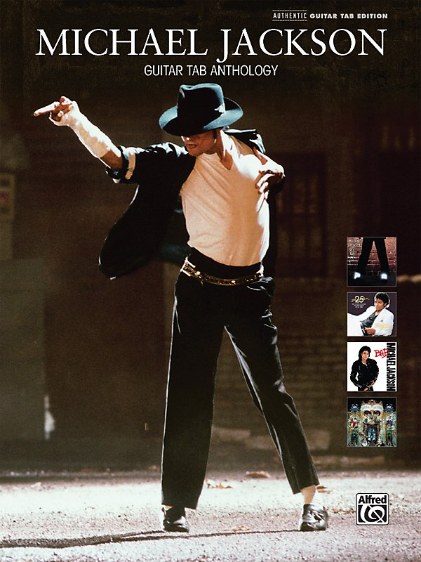 Alfred - Michael Jackson - Guitar Tab Anthology (Book)