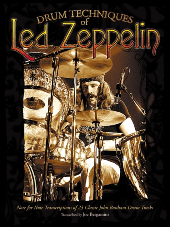 Alfred - Drum Techniques Of Led Zeppelin (Book)
