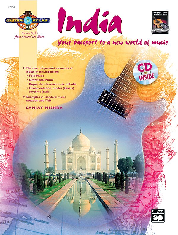 Alfred - Guitar Atlas: India (Book/Cd)