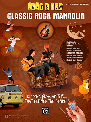 Alfred - Just for Fun Classic Rock Mandolin Book