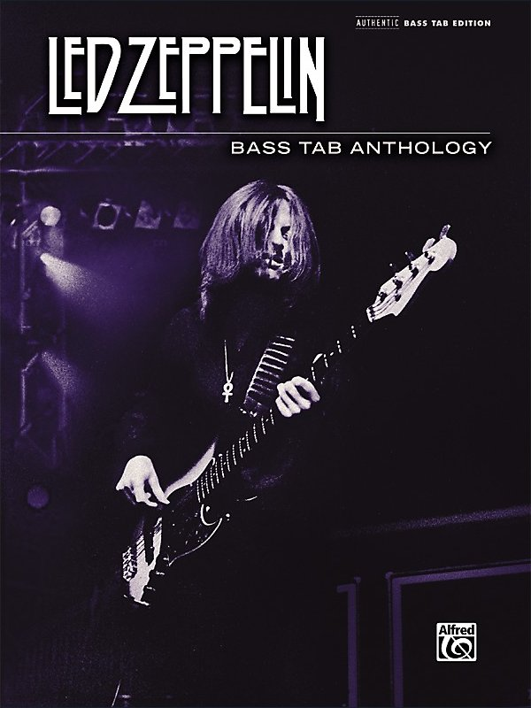 Alfred - Led Zeppelin - Bass Tab Anthology Book
