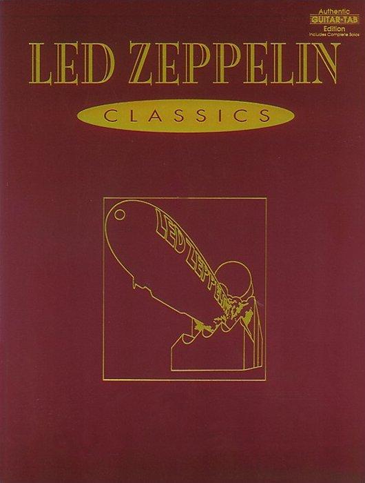 Alfred - Led Zeppelin Classics Guitar Tab Book