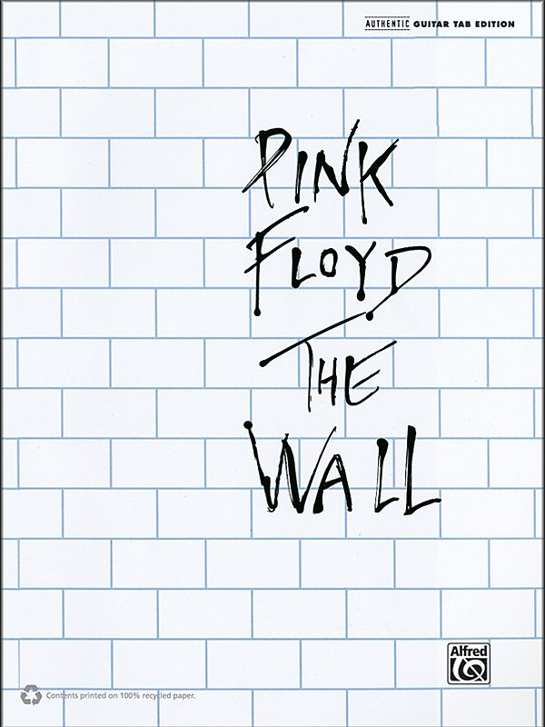 Alfred - Pink Floyd The Wall Guitar Tab Book