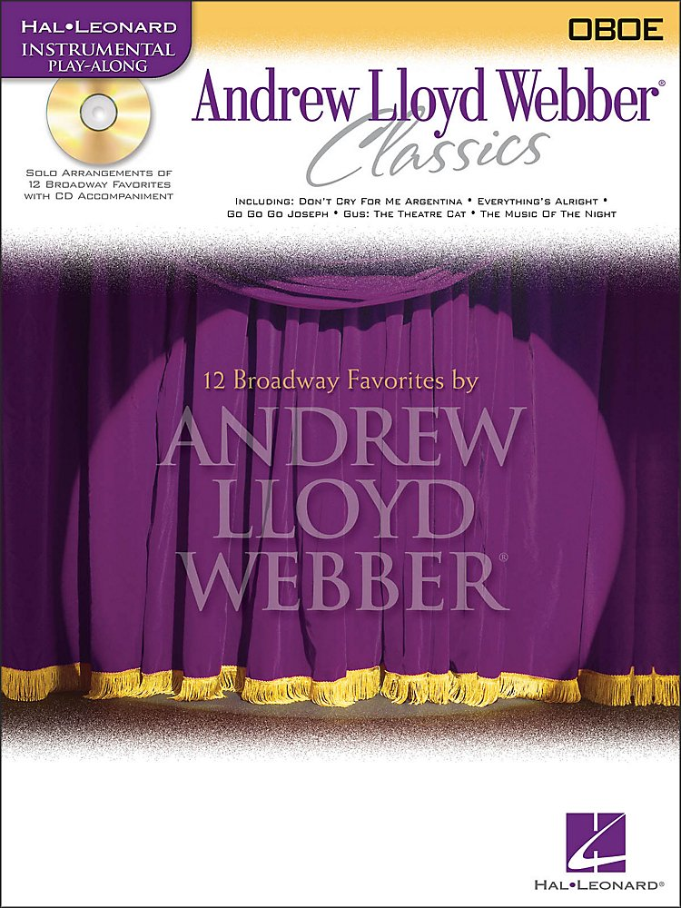 Hal Leonard - Andrew Lloyd Webber Classics for Oboe Book/CD