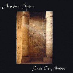 Anubis Spire CD Back To Abydos