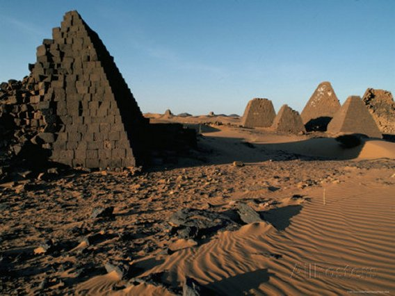 Archaeological Site of Meroe, Sudan, Africa