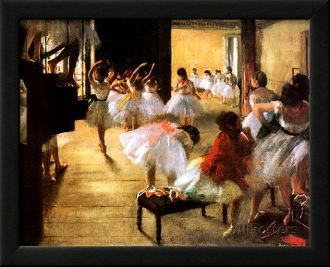 Ballet Rehearsal by Edgar Degas