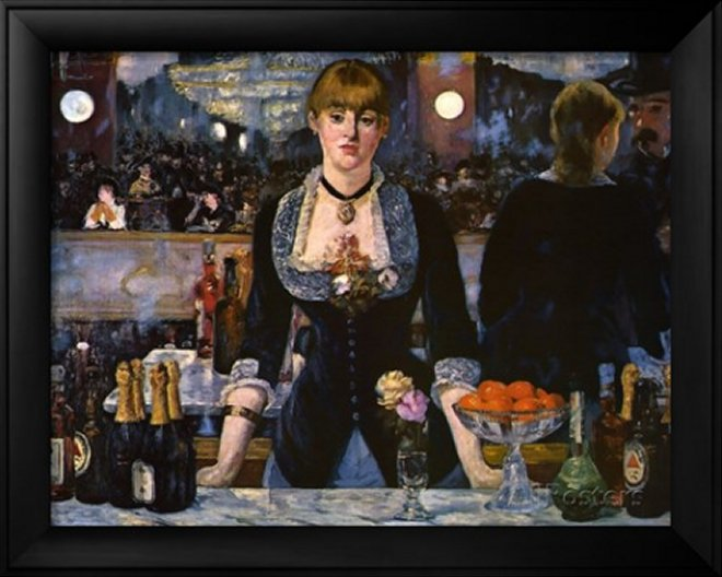 Bar at the Folies-Bergere, 1882 by Édouard Manet