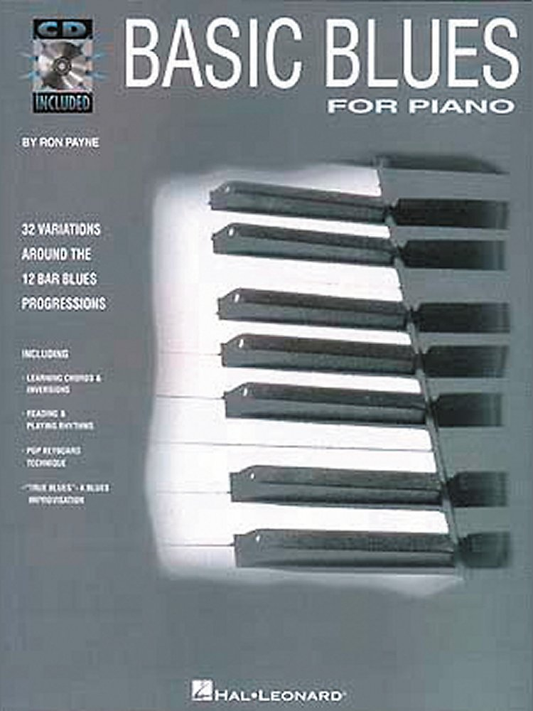Hal Leonard - Basic Blues For Piano With Cd
