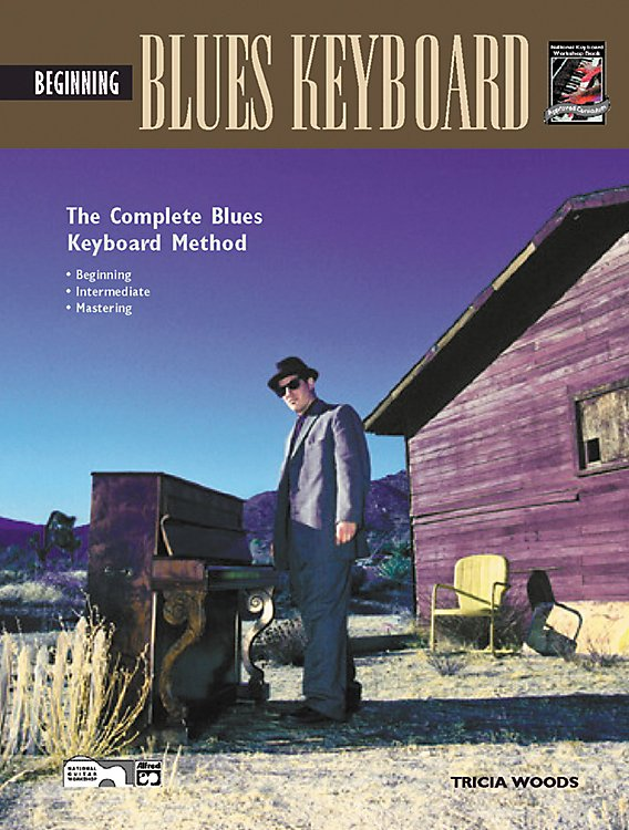 Alfred - Beginning Blues Keyboard (Book/CD)