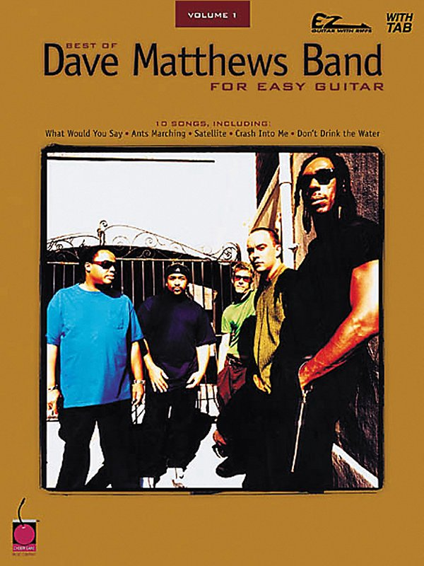 Cherry Lane - Best Of Dave Matthews Band For Easy Guitar Volume 1