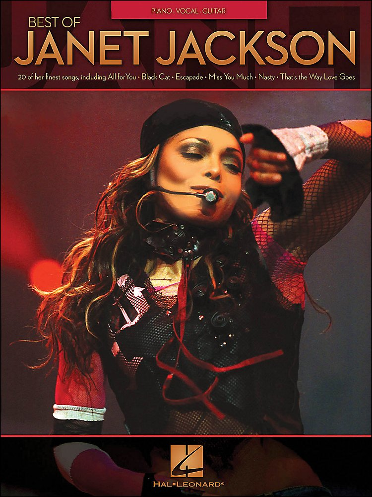 Hal Leonard - Best Of Janet Jackson [Book]