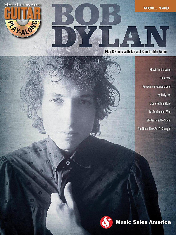 Music Sales - Bob Dylan - Guitar Play-Along Volume 148 Book/Cd