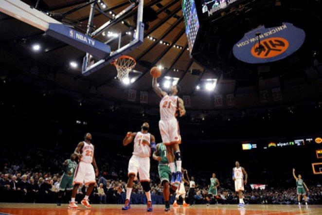 Boston Celtics v New York Knicks: Wilson Chandler