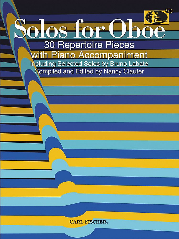 Carl Fischer - Solos For Oboe Book