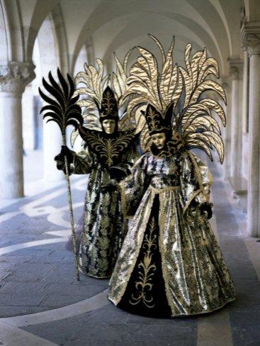 Carnival Costumes, Venice, Veneto, Italy, Venice Posters