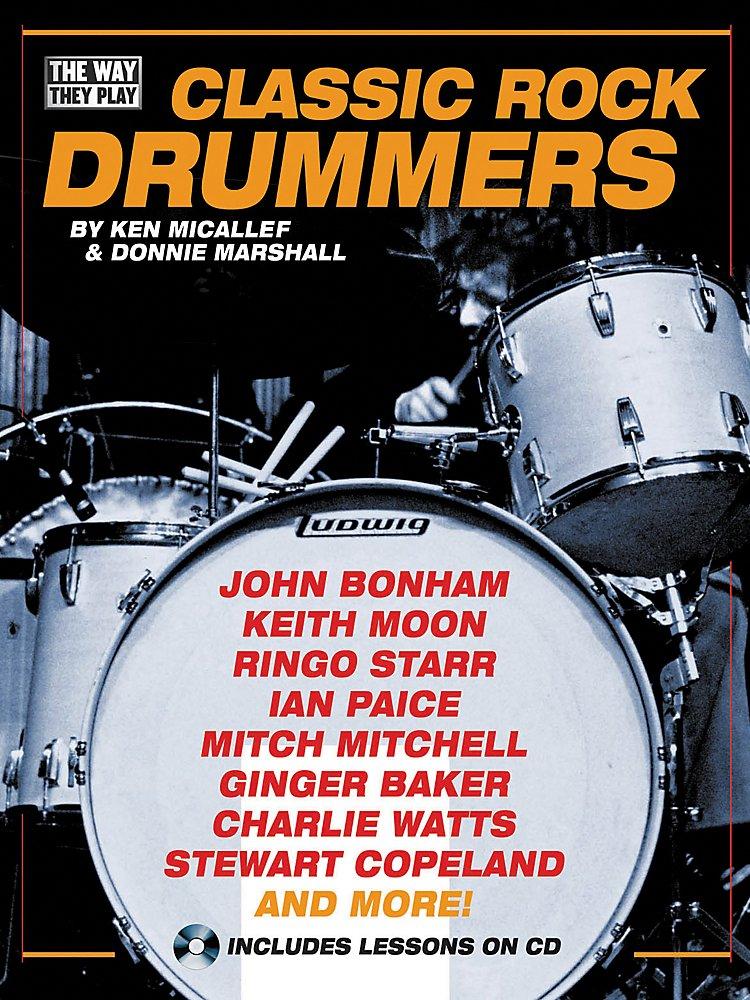 Hal Leonard - Classic Rock Drummers (Book/CD)