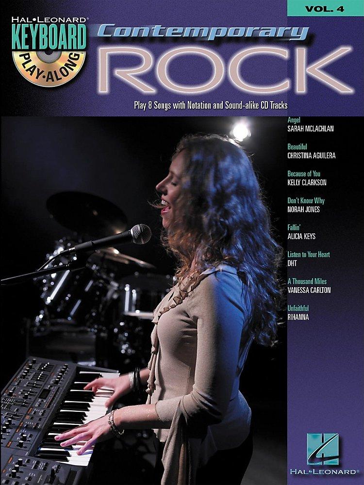 Hal Leonard Contemporary Rock Keyboard PlayAlong Volume 4 (Book/CD)