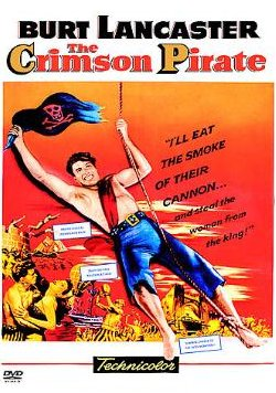 Crimson Pirate - Burt Lancaster - DVD
