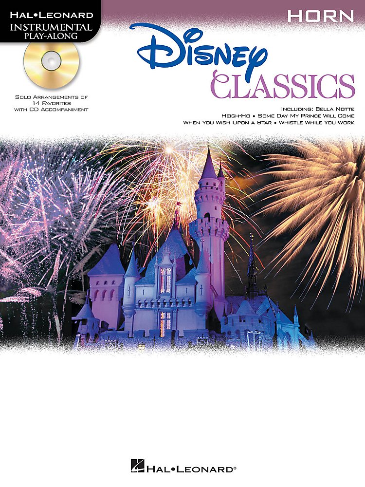 Hal Leonard - Disney Classics Instrumental Play Along (Book/CD) Horn