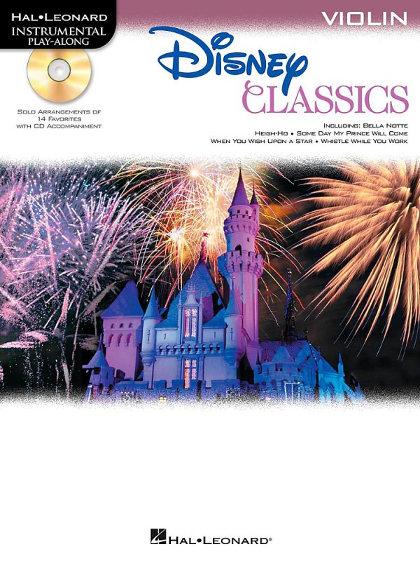 Hal Leonard - Disney Classics Instrumental Play Along (Book/CD) Violin