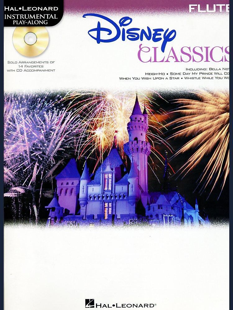 Hal Leonard - Disney Classics Instrumental Play Along (Book/Cd) Flute