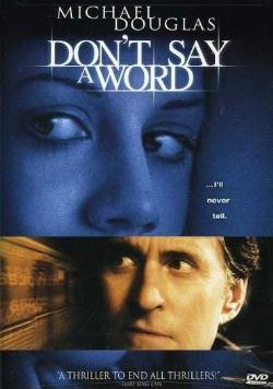 Don't Say a Word, Michael Douglas, DVD and