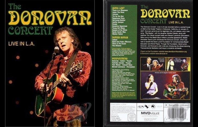Donovan Concert Live in LA, DVD
