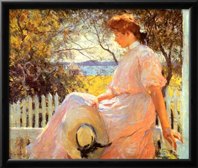 Eleanor by Frank Weston Benson