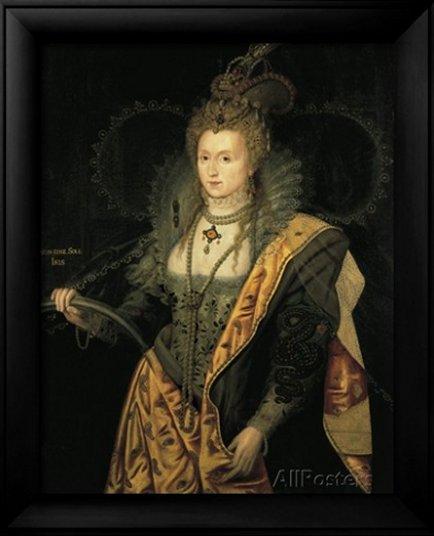 Elizabeth I, Queen of England, by George Peter Alexander Healy