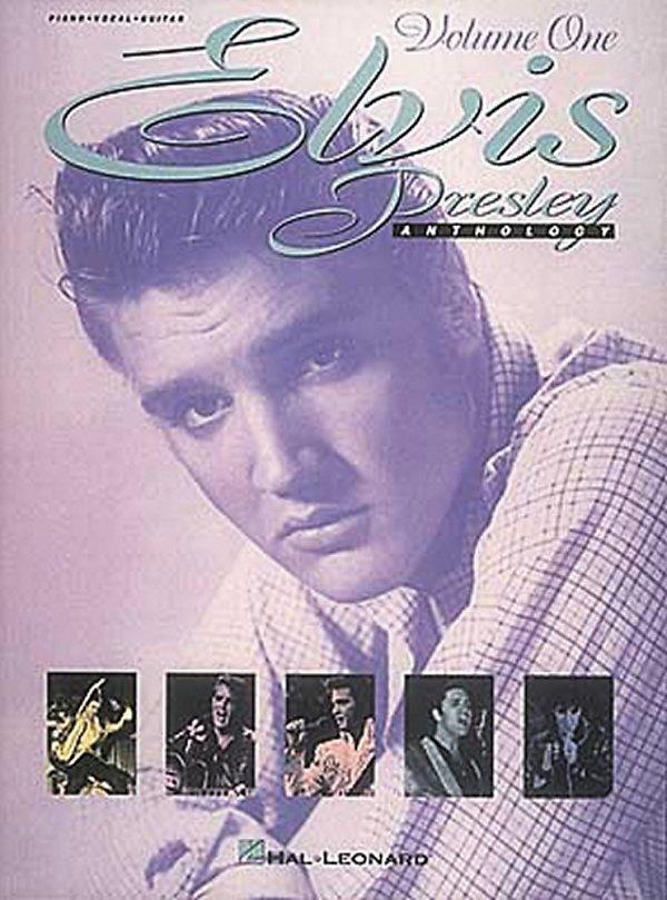 Hal Leonard - Elvis Presley Anthology Vol. 1 Piano Vocal Guitar Book