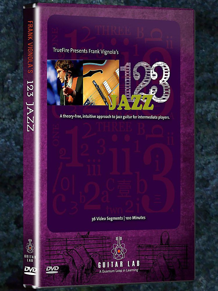 Emedia 1-2-3 Jazz Guitar Dvd