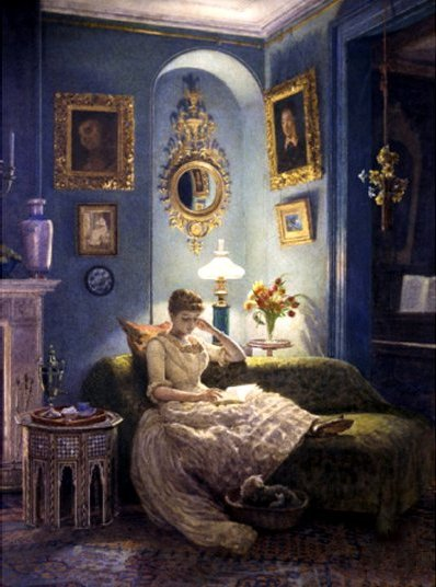 Evening at Home by Sir Edward John Poynter