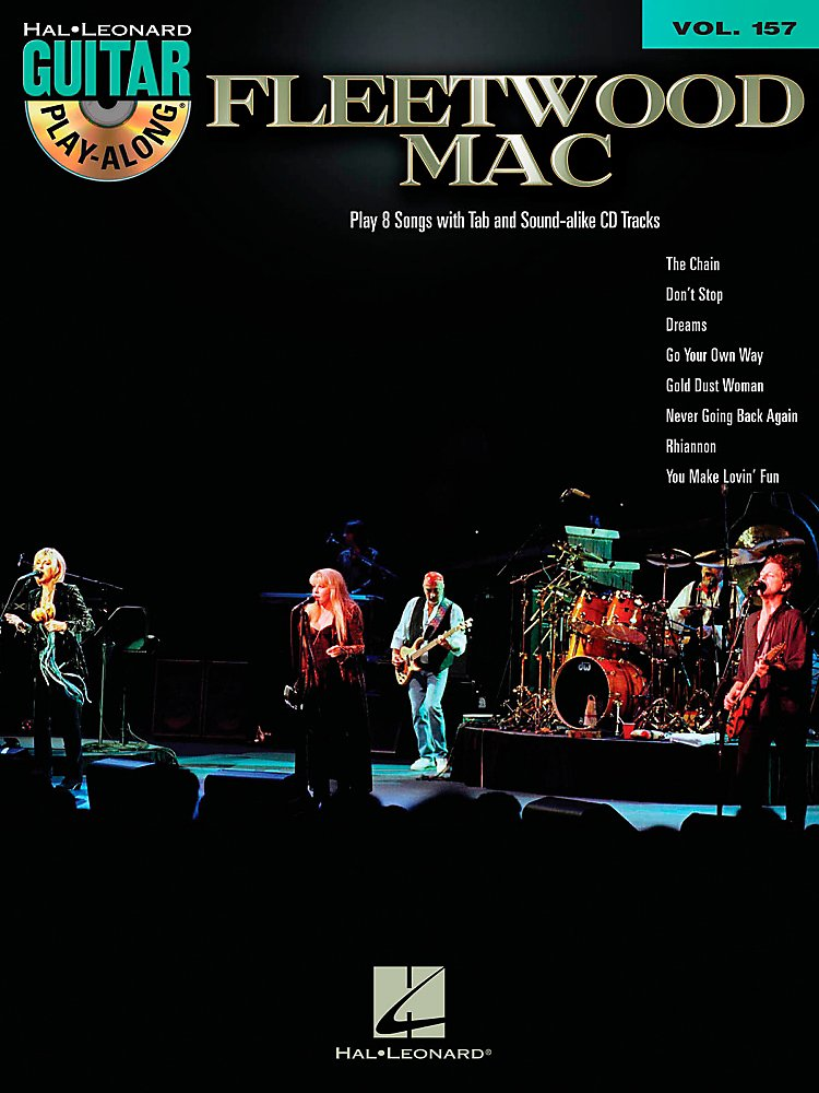 Hal Leonard - Fleetwood Mac - Guitar Play-Along Book/CD Vol. 157