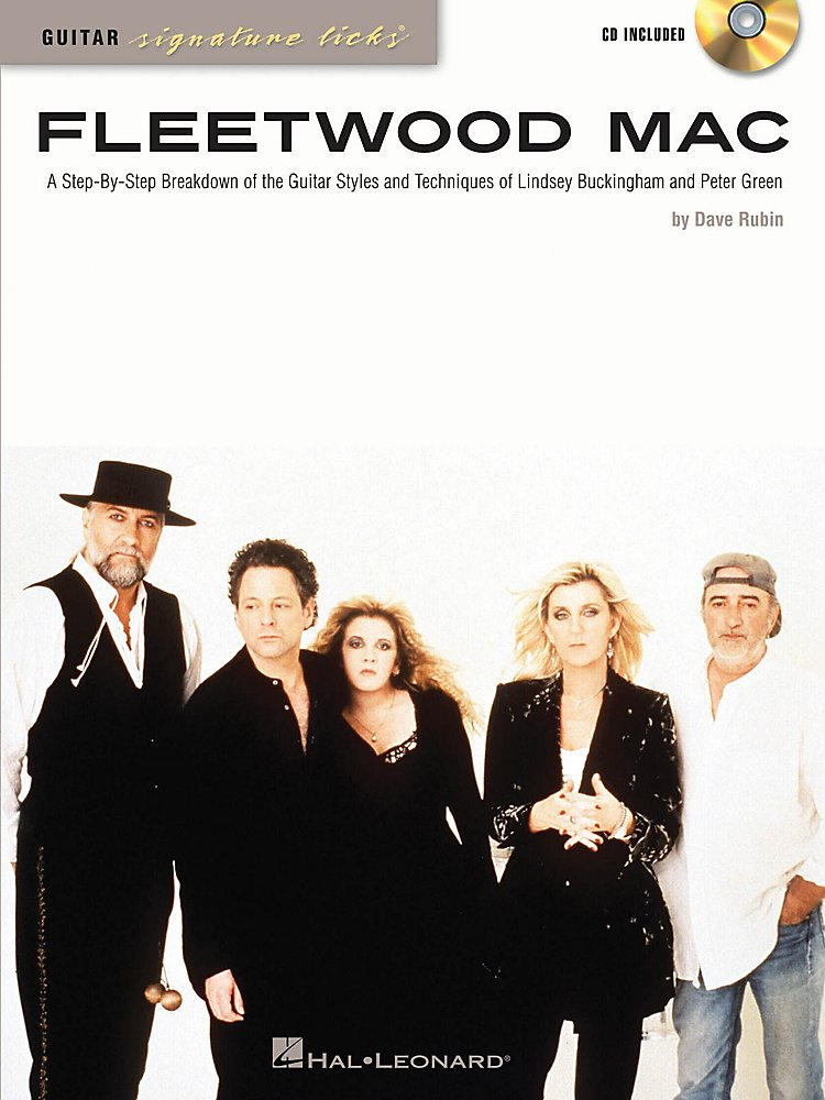 Hal Leonard - Fleetwood Mac Guitar Signature Licks Book/CD